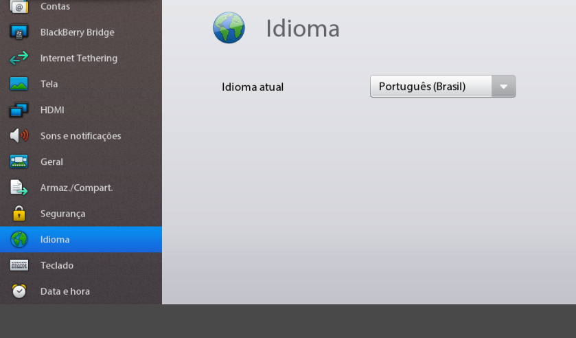 Configuracao Idioma Playbook