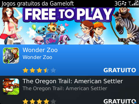 Gameloft - Free to Play