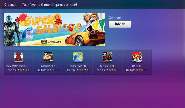 Promocao Gameloft