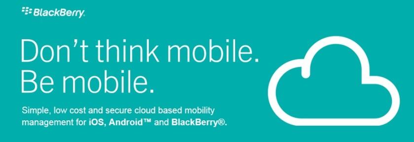 Nuvem Blackberry
