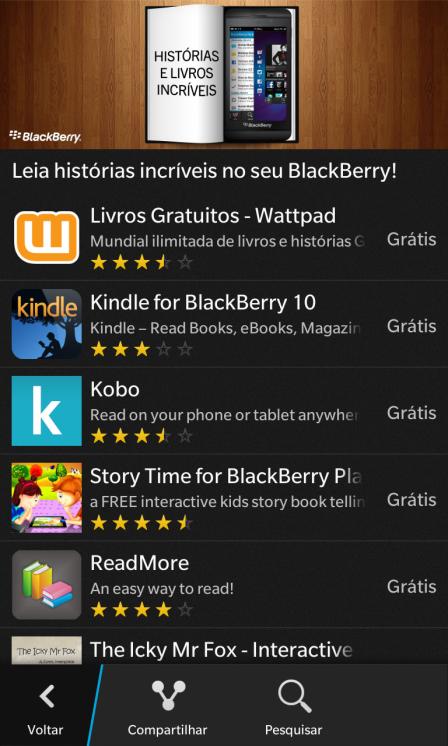 Apps Livros