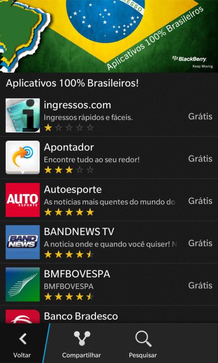 Aplicativos Brasileiros