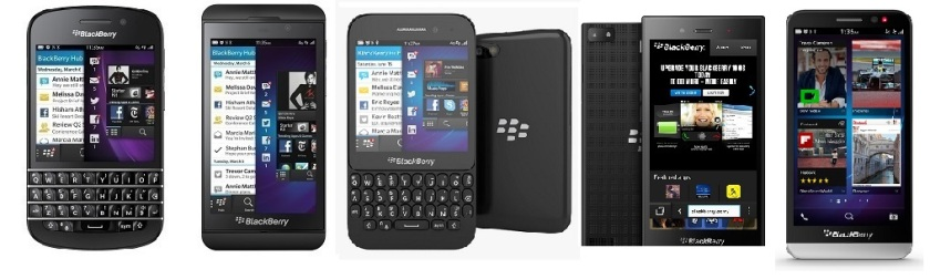 All BlackBerrys 10