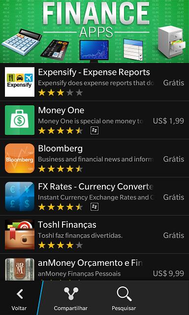 apps Financeiros