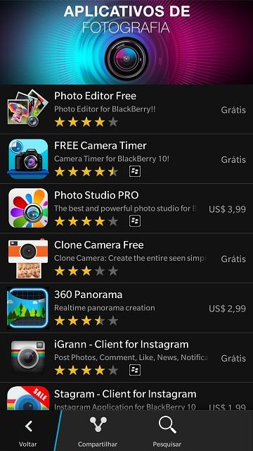 Apps de Fotografias