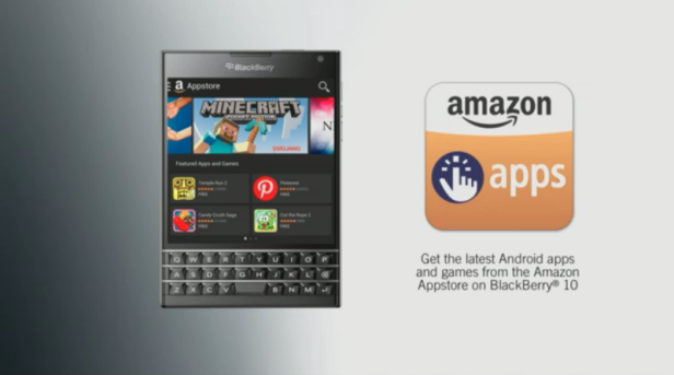 BB Passport Amazon Apps