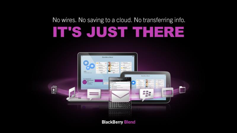 BlackBerry Blend Lancamento