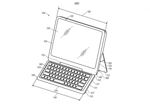 BlackBerry Notebook Patente