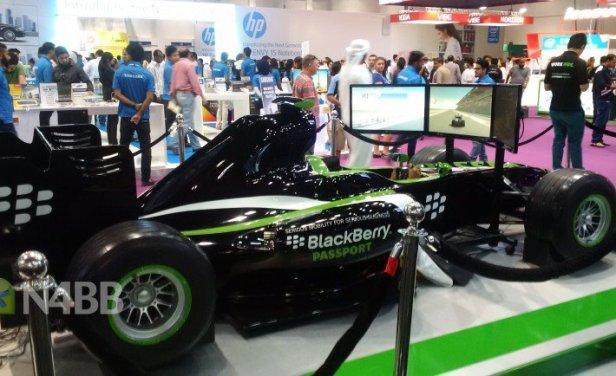 BlackBerry Passport e Formula 1
