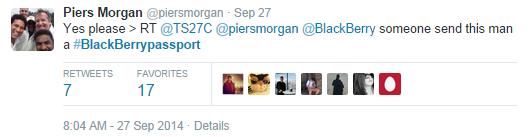 Passport por Piers Morgan