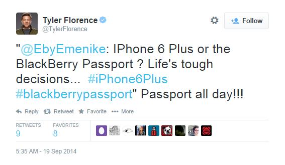 Passport por Tyler Florence