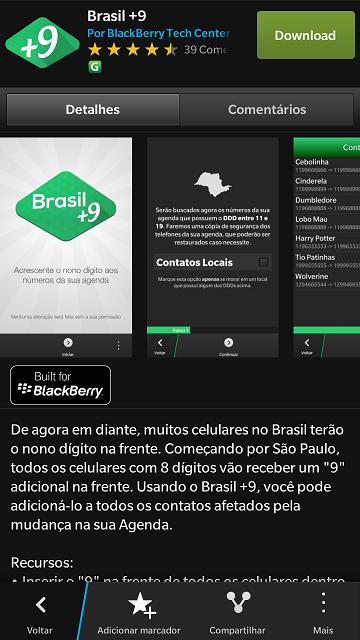 Brasil mais 9 - 01