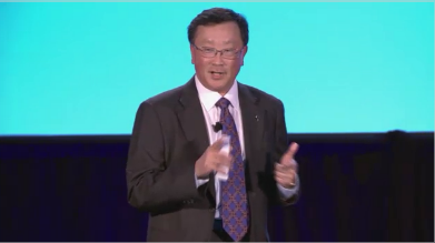 John Chen no Palco