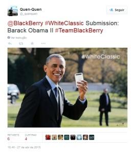 Barack Obama - Classic Branco
