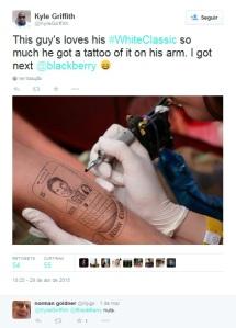 Tatuagem - Classic Branco