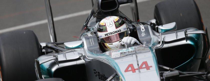 QNX Mercedes - Silverstone