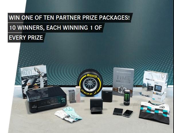 Sorteios Mercedes AMG Petronas