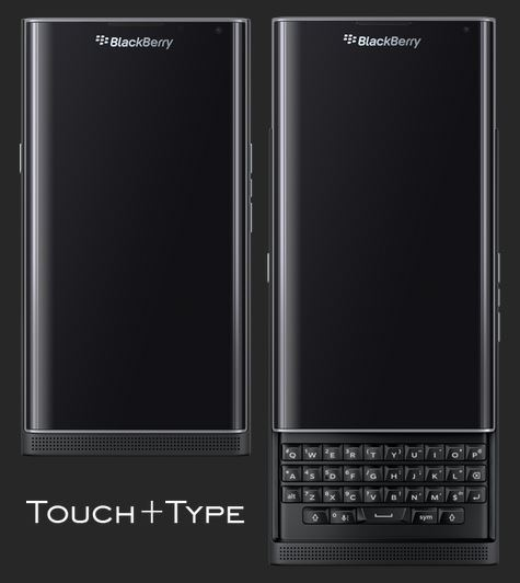 Touch ou Type - BB Priv