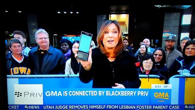 BlackBerry Priv - Good Morning American