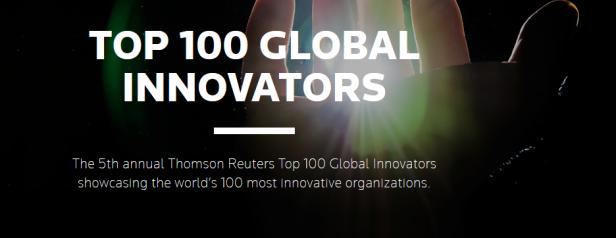 thomson Reuters Top 100 - 2015