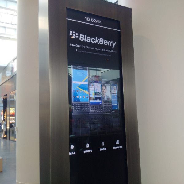 Quiosque BlackBerry